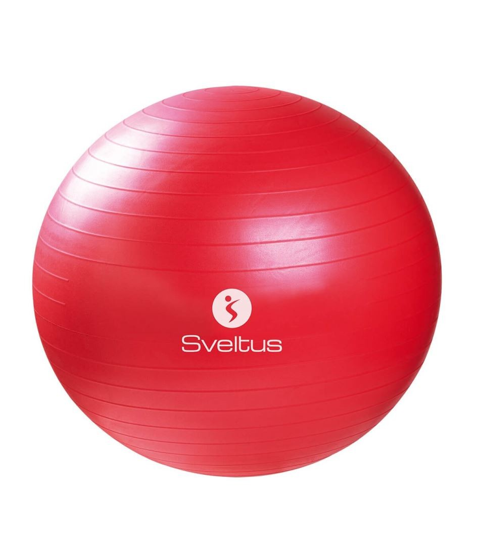 Gymball rouge Ø65 cm bte